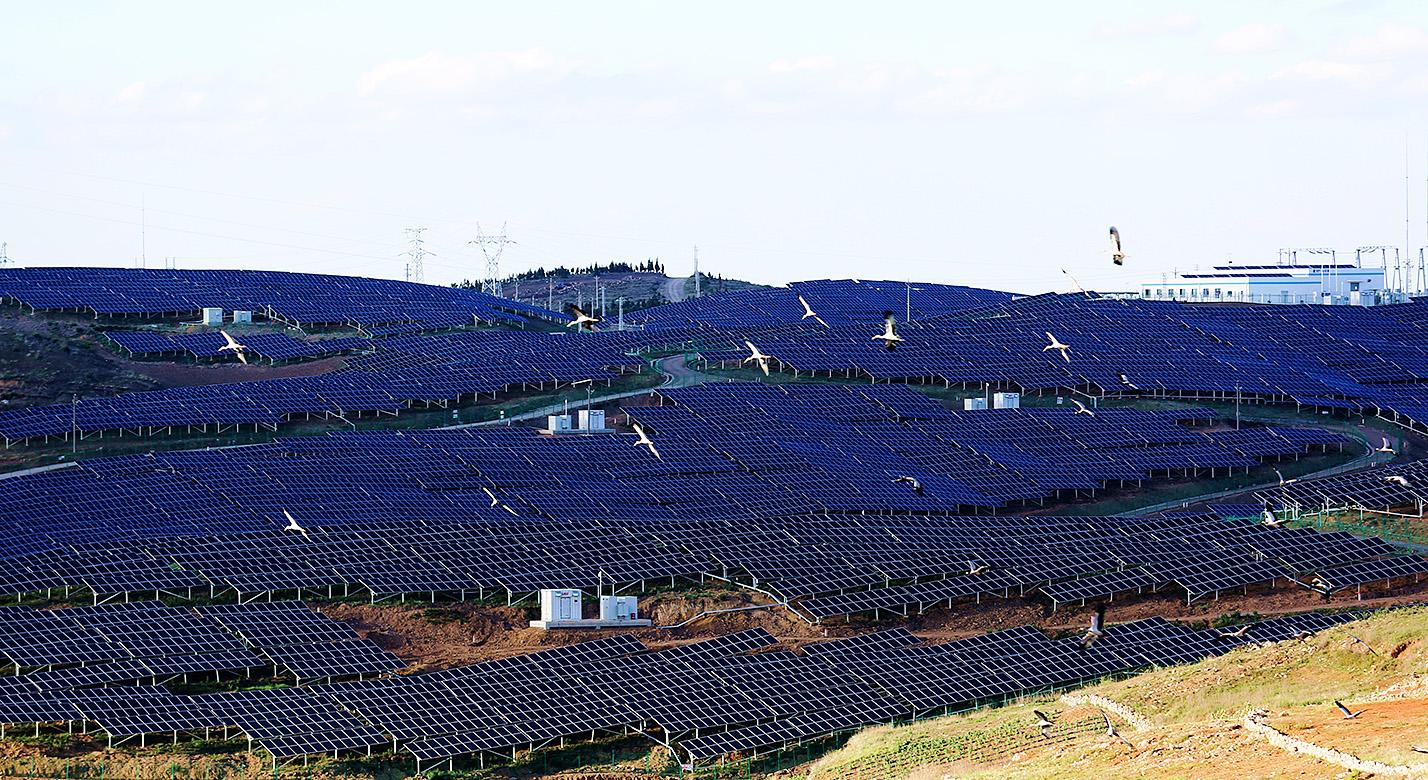 云南石林北大村60MWp光伏电站EPC总承包工程