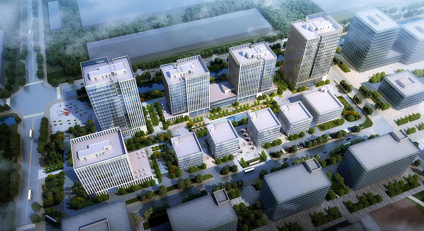 青岛国创中心双创园1—1期工程