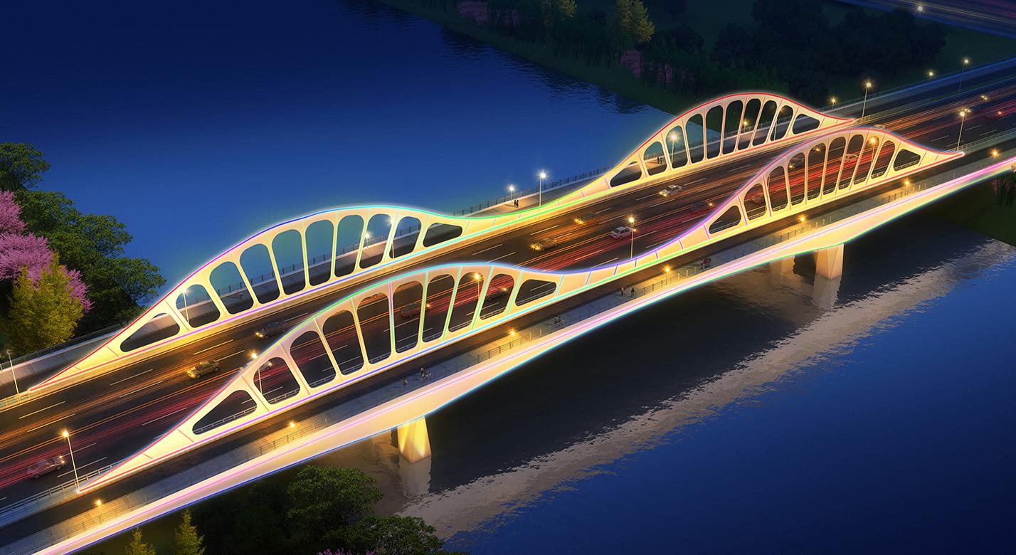 宁国市城北新城综合开发PPP项目振宁路路大桥