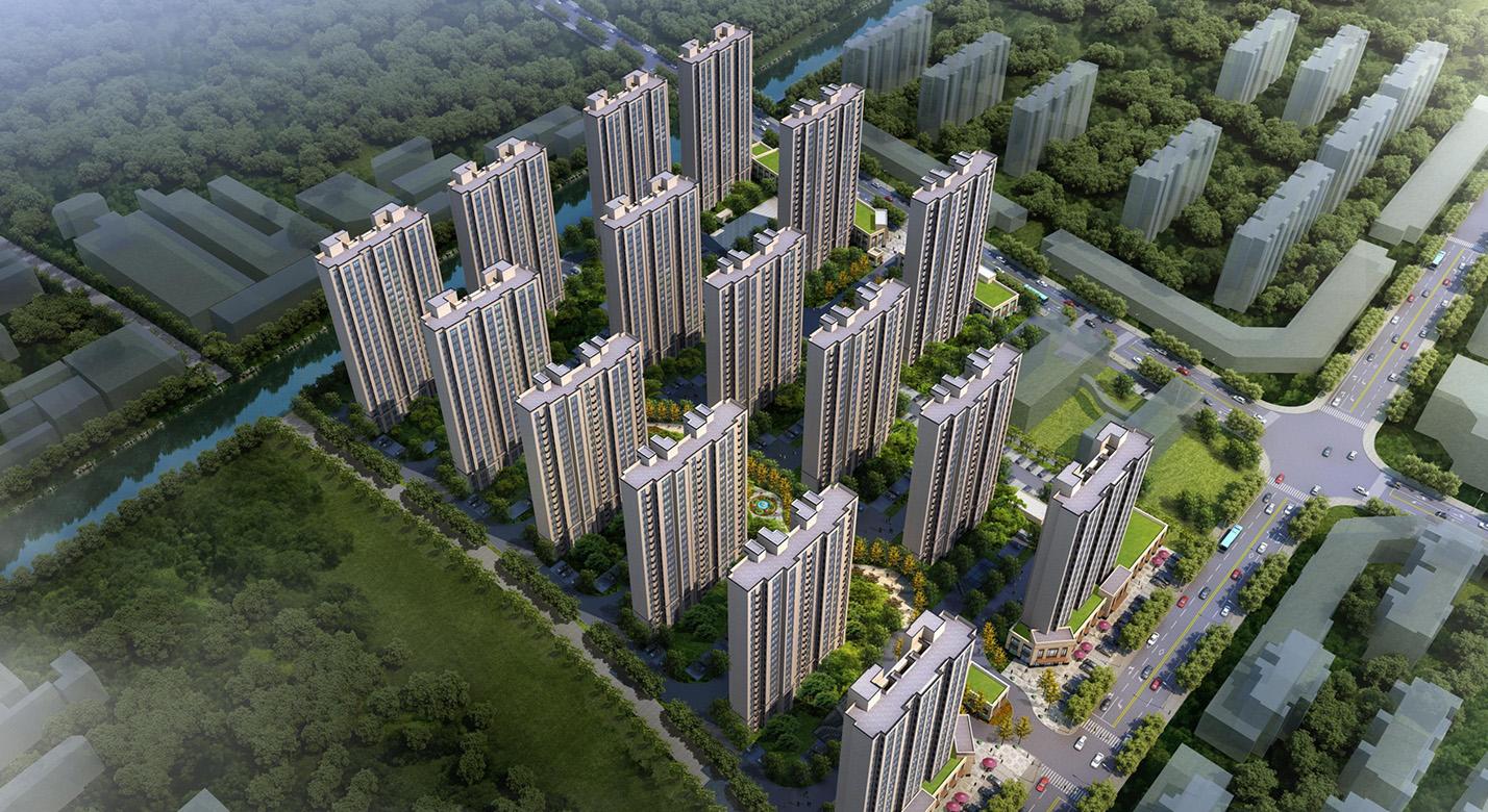 宝山新城杨行杨鑫社区动迁安置房项目