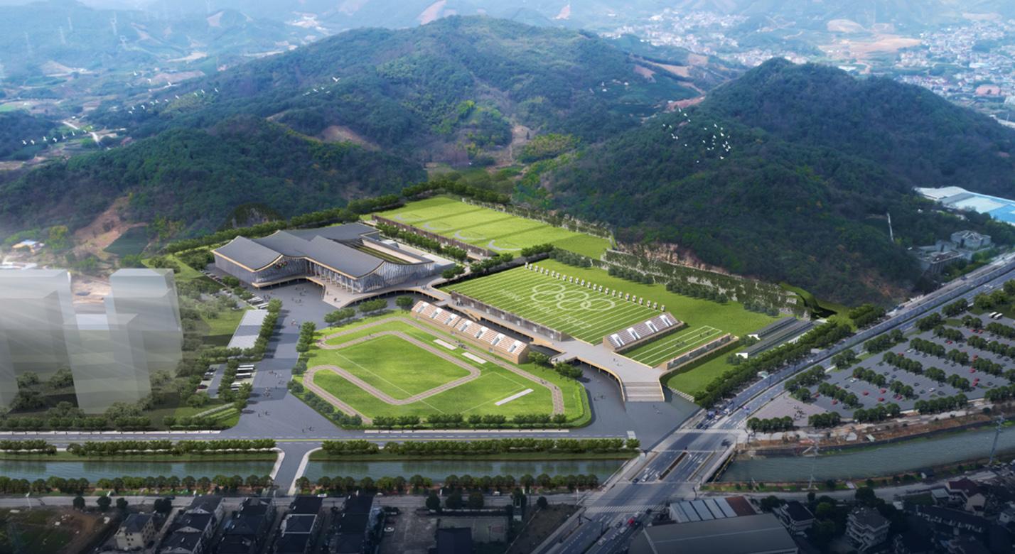 杭州富阳区亚运射击射箭现代五项馆PPP项目工程