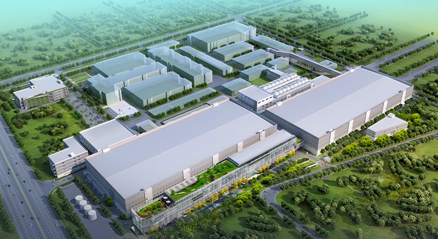 中芯国际12英寸SN1&SN2厂房总包工程