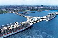 上海吴淞口国际邮轮港