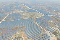 潍坊天恩金山30MWp荒山农业光伏发电工程