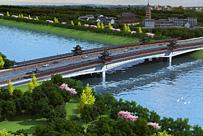 宁国市城北新城综合开发PPP项目金桥路大桥