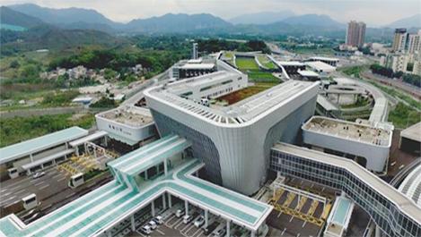 广州分公司承建的莲塘口岸今起正式开通启用