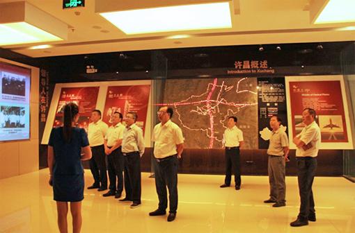 王石磊,陈刚拜访许昌市委书记武国定图片