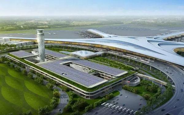 钢结构工程公司中标青岛新机场(一标段)项目