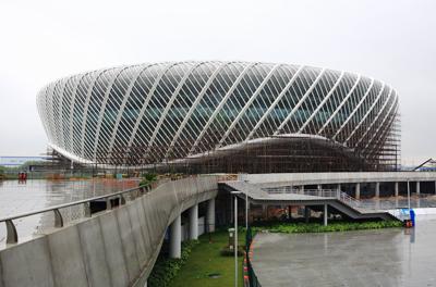 武汉光谷国际网球中心网球馆